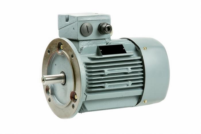 Flensmotor 1,5 kW - 3000 TPM - klein huis