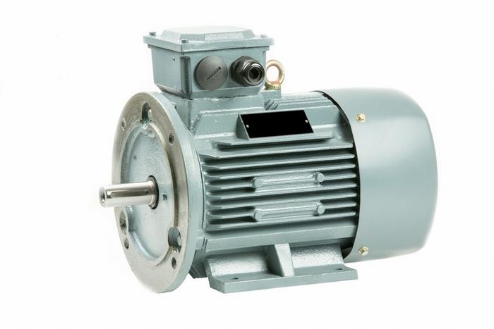 Voet-/Flensmotor 4 kW - 1500 TPM