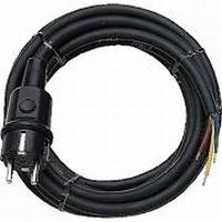 Aansluitsnoer rubber 230 Volt - 3 mtr.