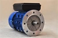 Flensmotor 230 Volt - 0,37 kW - 3000 TPM - B5